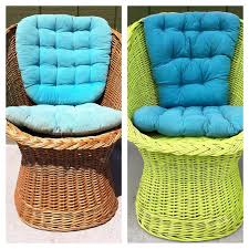 green wicker furniture cushions. old wicker chair to new key lime green with teal pillows just spray paint and fabric furniture cushions t