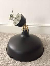 ikea ranarp pendant lamp black