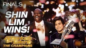 Shin Lim Is THE WINNER! - America's Got Talent: The Champions ...
