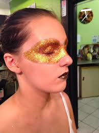 gliter halloween makeup ideas