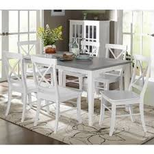 French country dining room furniture Cream Simple Living 7piece Helena Dining Set Overstock Buy French Country Kitchen Dining Room Sets Online At Overstock