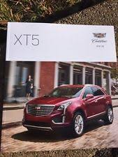 2018 cadillac brochure. modren brochure new listing new 2018 cadillac xt5 40 pg original car sales brochure catalog  usa and cadillac brochure