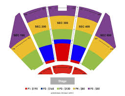 Nokia Theater Seating Chart Video