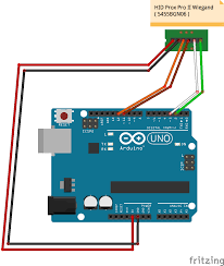 hid prox rfid to arduino arduino project hub hid prox reader wiring at Wiegand Reader Wiring Diagram