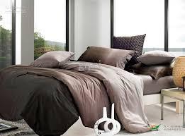 grant brown coffee bedding set king size queen duvet cover quilt bed in a bag ed sheet bedsheet bedspreads bedroom linen 100 cotton