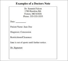 Doctor Excuse Note Template Pdf In 2019 Doctors Note