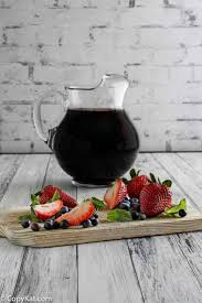 you can make olive garden berry sangria at home with this easy copycat recipe
