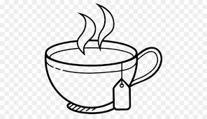 tea cup clip art.  Tea White Tea Coffee Cup Clip Art  Tea Drawing Intended Art