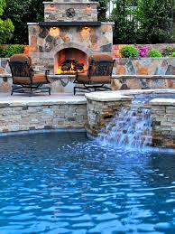 Inground Pools With Waterfalls Home Furniture