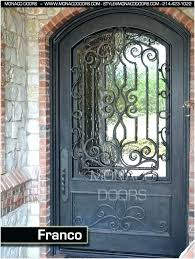 metal and glass front doors iron and glass front doors iron entry doors iron front doors