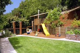 Small Backyard Landscape Designs Simple Sit Out On A New Deck From DecksRUs And Be Able To Watch The Kids