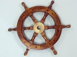 12 ship wheel boat steering wheel wall decor