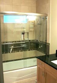 best tub shower combo bath ideas the on bathtub one piece installation idea