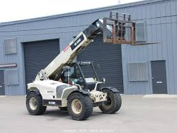 Ingersol Rand Forklift West Auctions Auction 2005 Telehandler Ford Dump Truck And