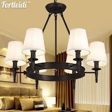 tleidi american retro wrought iron chandelier european creative simple mediterranean living room chandelier post modern restaurant bedroom chandelier