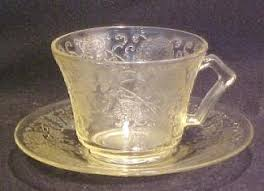 Depression Glass Patterns Beauteous Depression Glass Fire King By Anchor Hocking Forest Green Jadite