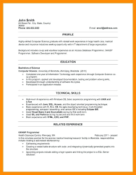 Resume Templates For Recent College Graduates 6 Recent College