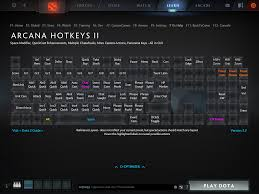 arcana hotkeys ii making dota 2 hotkeys great again playdota