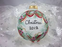Hand Decorated Christmas Balls Hand Painted Christmas Ornament Hand Painted Christmas Ornaments 14