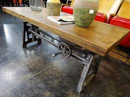 Nice Industrial Rustic Coffee Table with Denver Furniture Store