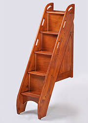 bunk beds with stairs. Cherry Finish Bunk Beds With Stairs S