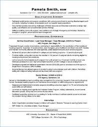 Entry Level Social Work Resume Igniteresumes Com
