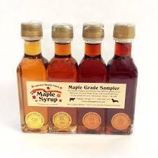 4 pack maple syrup sler