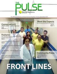 The Pulse T3 Frontlines 2015 By Davao Doctors Hospital Issuu