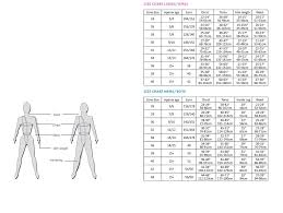 Gymnastics Leotard Size Chart Leotard Size Guide The Zone Gymnastics
