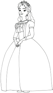 Coloring of coloring pages is very useful for girls, this occupation develops creative skills and learns to be accurate and assiduous. Queen Miranda Sofia The First Coloring Page Princess Coloring Pages Mom Coloring Pages Disney Princess Coloring Pages