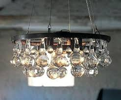 eclectic chandelier lighting custom made small clear round glass drop chandelier lamp on chandelier tree address