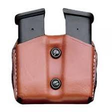 Glock Magazine Holder DeSantis A100 Leather Double Magazine Pouch 93