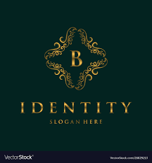 Luxury B B Lake District Grand Designs Letter B Luxury Frame Creative Business Logo