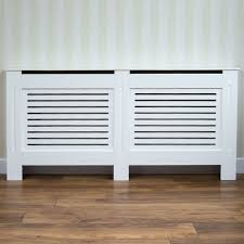 Vida Designs Milton Radiator Cover White Modern Painted Mdf Cabinet Large