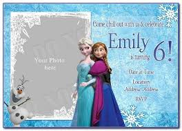 Easily send by text or email. Free Disney Frozen Birthday Invitation Templates Vincegray2014