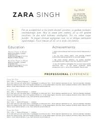 Accomplishments For Resume Interesting Accomplishments On Resume Examples Resume Templates To Highlight
