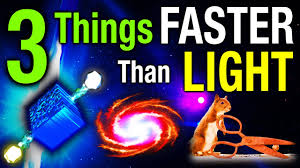 Is Light Speed Possible 3 Things Faster Than Light
