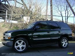 2002 Forest Green Metallic Chevrolet Tahoe LT 4x4 #24493139 ...
