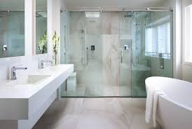 contemporary sliding shower doors. sliding glass shower doors bathroom with alcove double sinks contemporary p