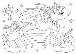 Kleurplaten voor peuters & kleuters; Kleurplaat Eenhoorn Of Unicorn Kleurplaat Tijd Met Kinderen
