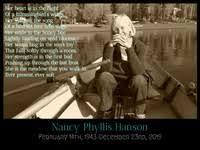 Nancy Hanson February 14 1943 December 23 2019 (age 76), death notice,  Obituaries, Necrology