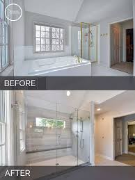 bathroom remodel pictures before and after. Contemporary After Before And After Master Bathroom Remodel Naperville  Sebring Services Throughout Pictures And R