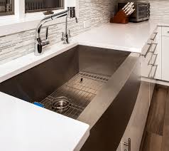 Best Kitchen Sinks And Faucets Kitchen Nice Granite Countertop With Small Sink And Traditional