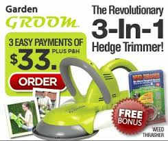 garden groom pro the cadillac of hedge trimmers