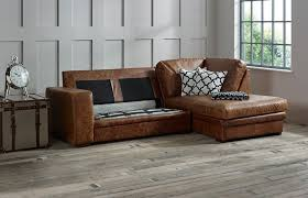 leather sofa bed. Abbey Leather Chaise Sofa Bed Right Hand Facing V