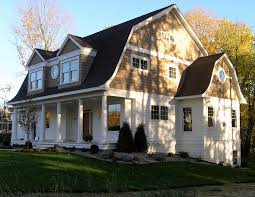 exterior colonial house design. Shingle Style Dutch Colonial Exterior - Traditional Minneapolis Ron Brenner Architects House Design