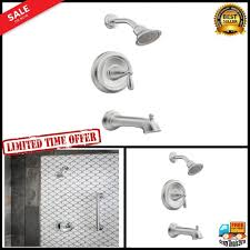 tub shower faucet set w handle single spray head bathtub plumbing fixtures home