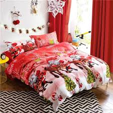 doona cover set red high end bedding twin full queen luxury silk bedding set 1390 red