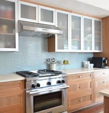 um size of modern kitchen with under cabinet lights and white glass cabinet doors also white