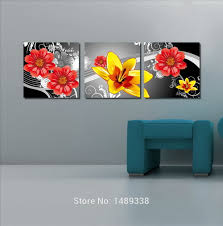 Paintings Living Room Wall Paintings Decorations For The Home Beauty Flower Painting
